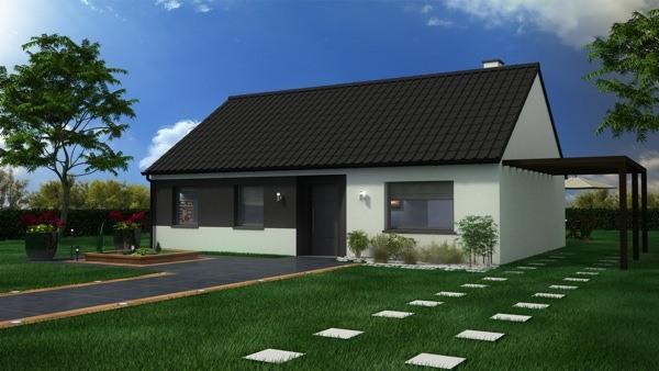 Maisons + Terrains du constructeur MAISON CASTOR LENS • 95 m² • SOUCHEZ