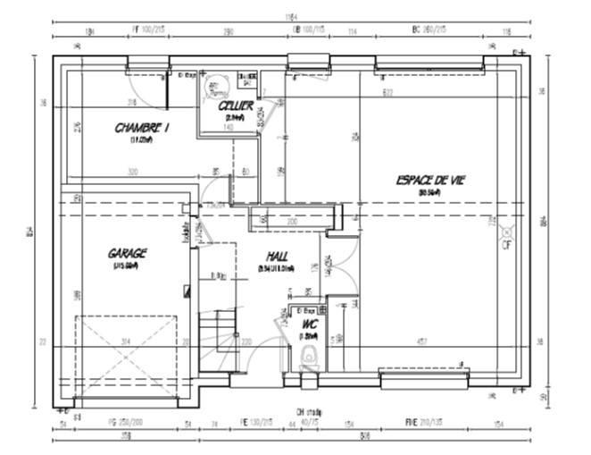 Maisons + Terrains du constructeur MAISON CASTOR LENS • 104 m² • HERSIN COUPIGNY