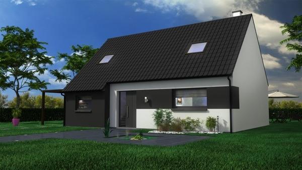 Maisons + Terrains du constructeur MAISON CASTOR LENS • 93 m² • BARLIN