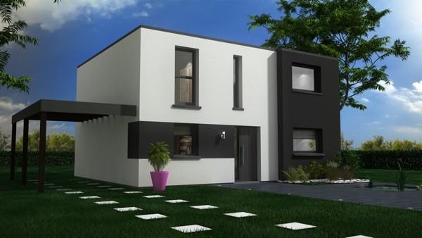 Maisons + Terrains du constructeur MAISON CASTOR LENS • 116 m² • LESTREM