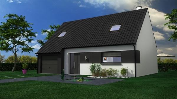 Maisons + Terrains du constructeur MAISON CASTOR LENS • 114 m² • OPPY