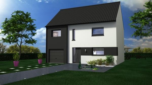 Maisons + Terrains du constructeur MAISON CASTOR LENS • 116 m² • COURRIERES