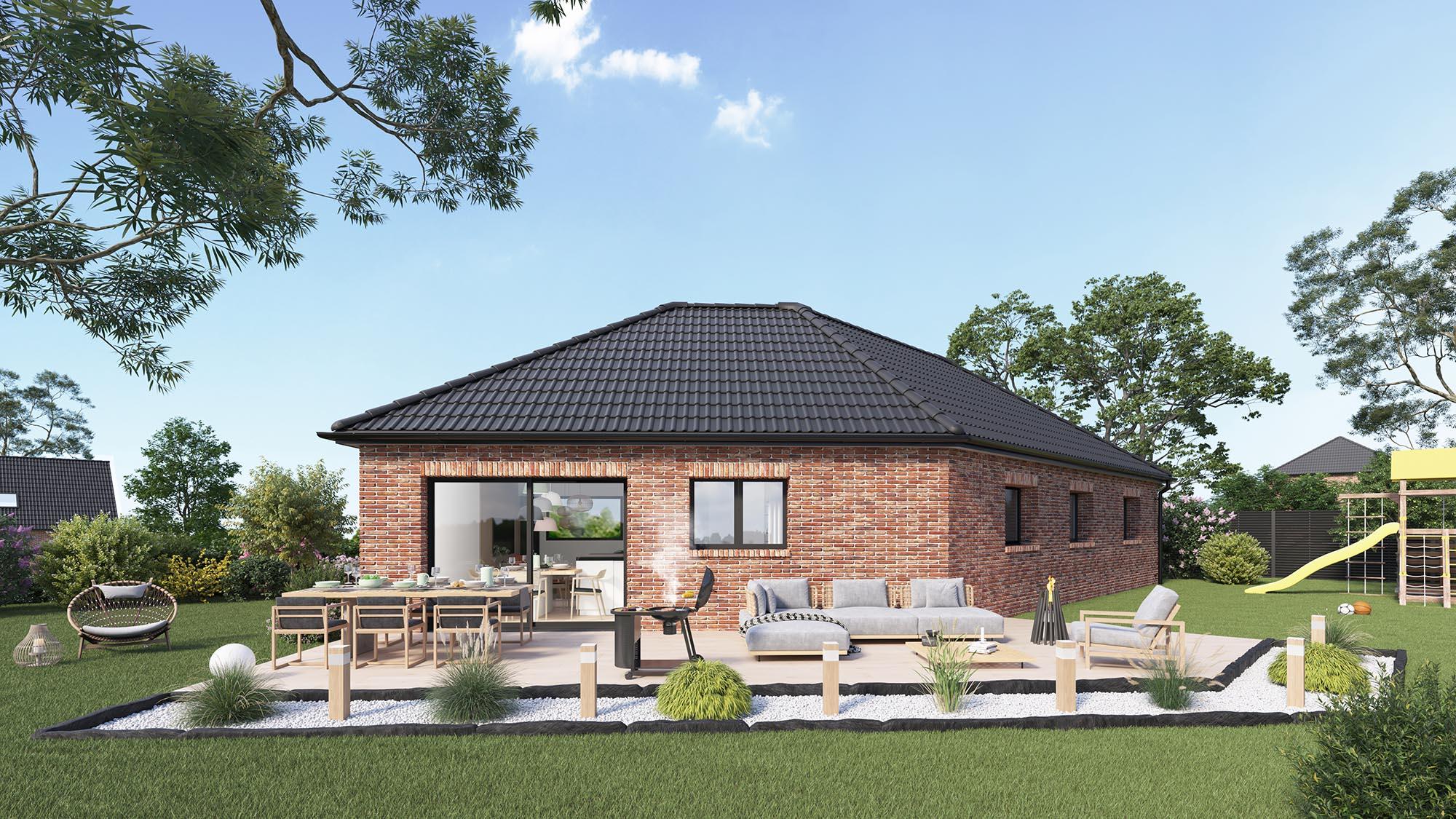 Maisons + Terrains du constructeur Maison Castor Valenciennes • 96 m² • LE QUESNOY