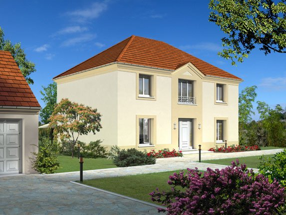 Maisons + Terrains du constructeur Maison Familiale Amiens • 105 m² • SAINT VAAST EN CHAUSSEE