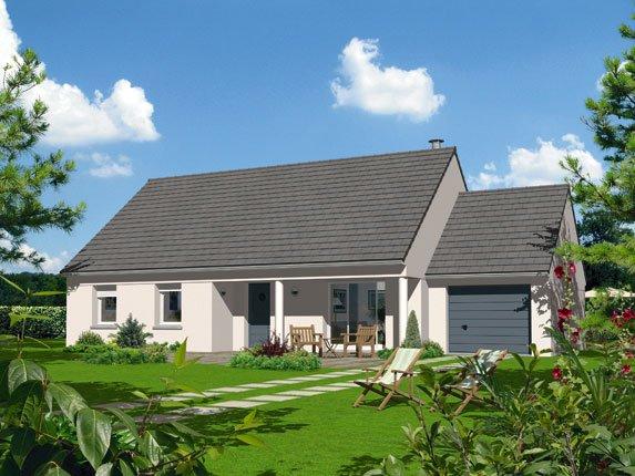 Maisons + Terrains du constructeur Maison Familiale Amiens • 100 m² • BERTEAUCOURT LES THENNES