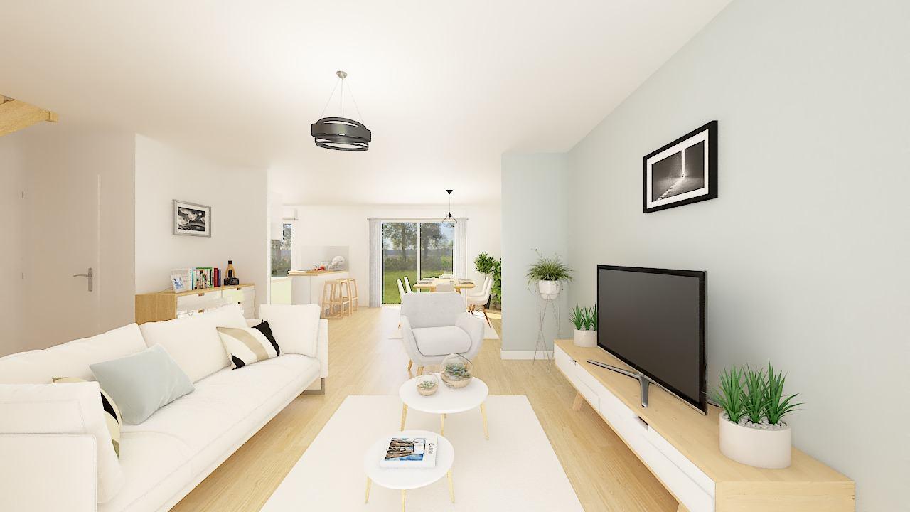 Maisons + Terrains du constructeur MAISONS PHENIX • 120 m² • TETEGHEM