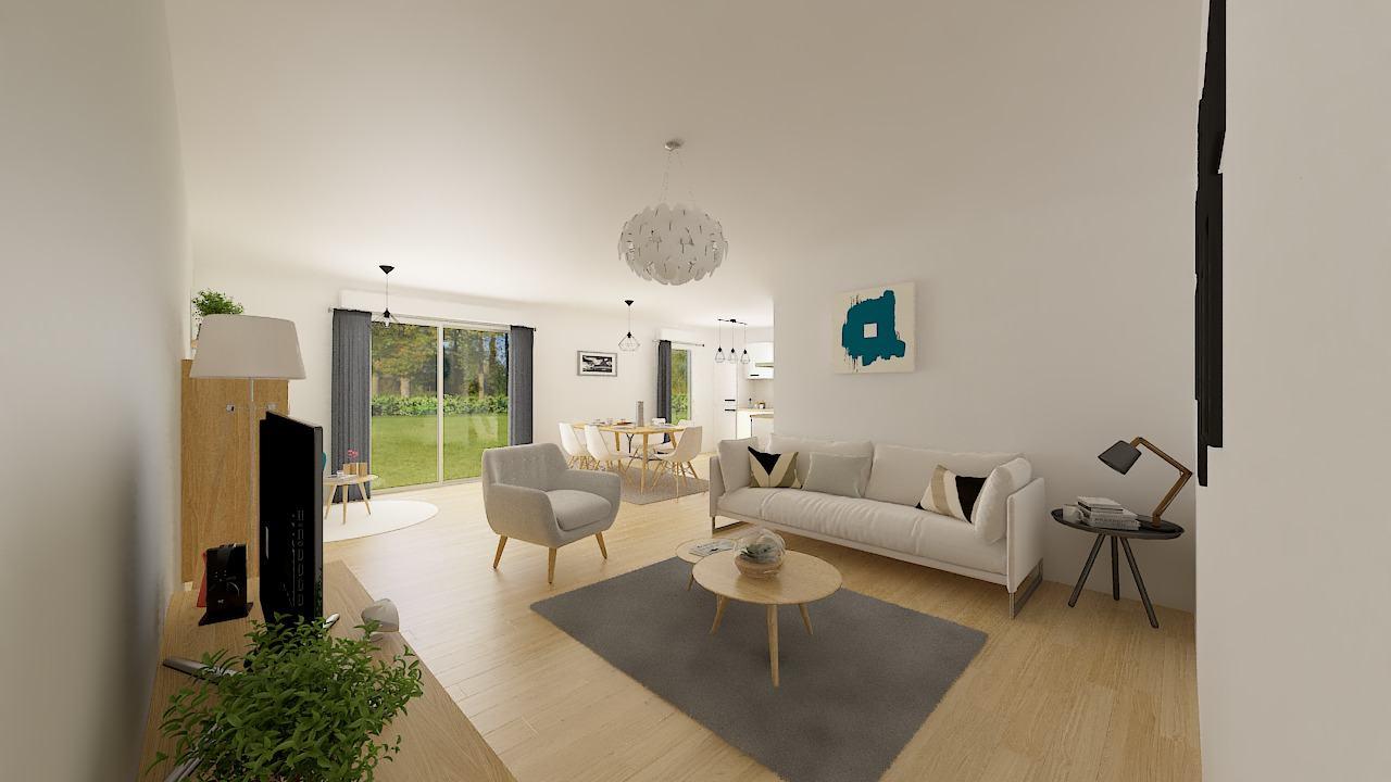 Maisons + Terrains du constructeur MAISONS PHENIX • 88 m² • BOLLEZEELE