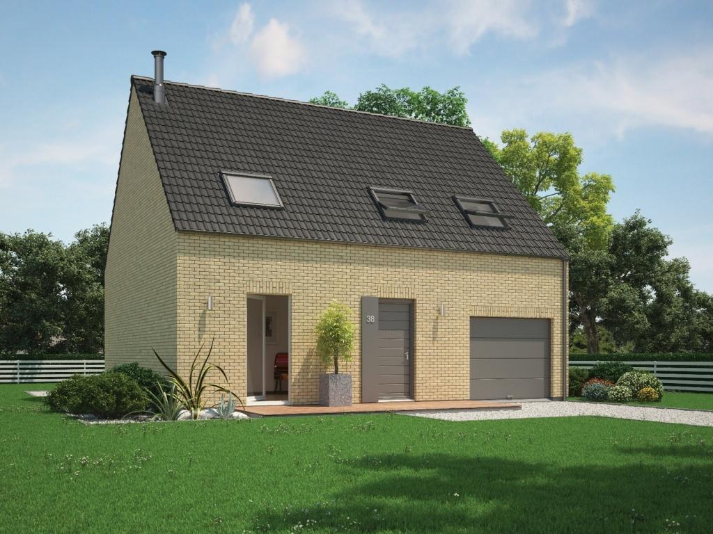 Maisons + Terrains du constructeur Maisons Phénix Dunkerque • 115 m² • LOOBERGHE