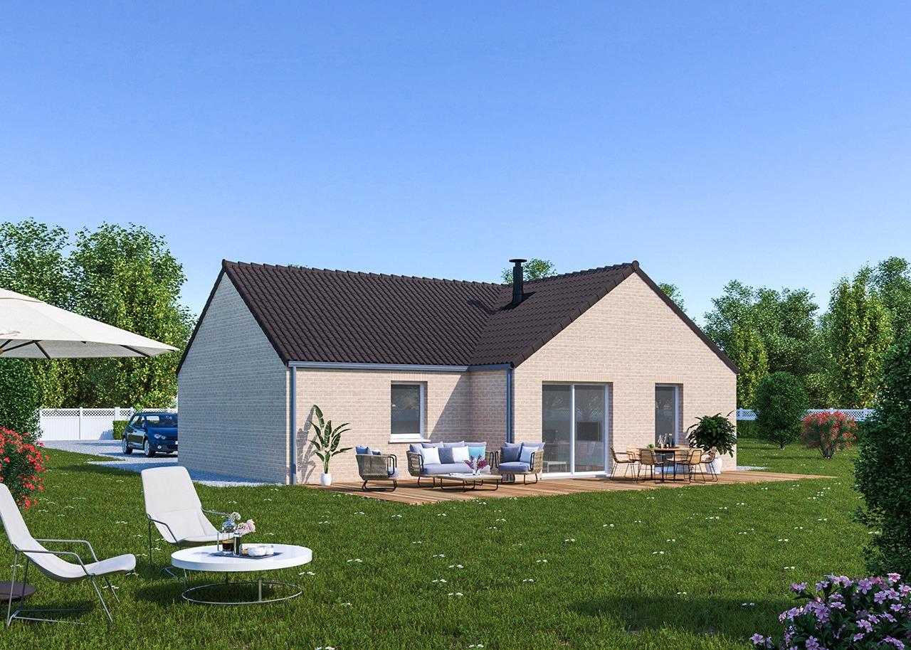 Maisons + Terrains du constructeur Maisons Phénix Dunkerque • 92 m² • HERZEELE