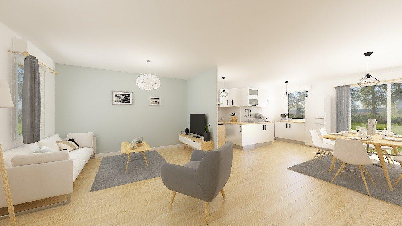 Maisons + Terrains du constructeur Maisons Phénix Dunkerque • 84 m² • CAPPELLE BROUCK