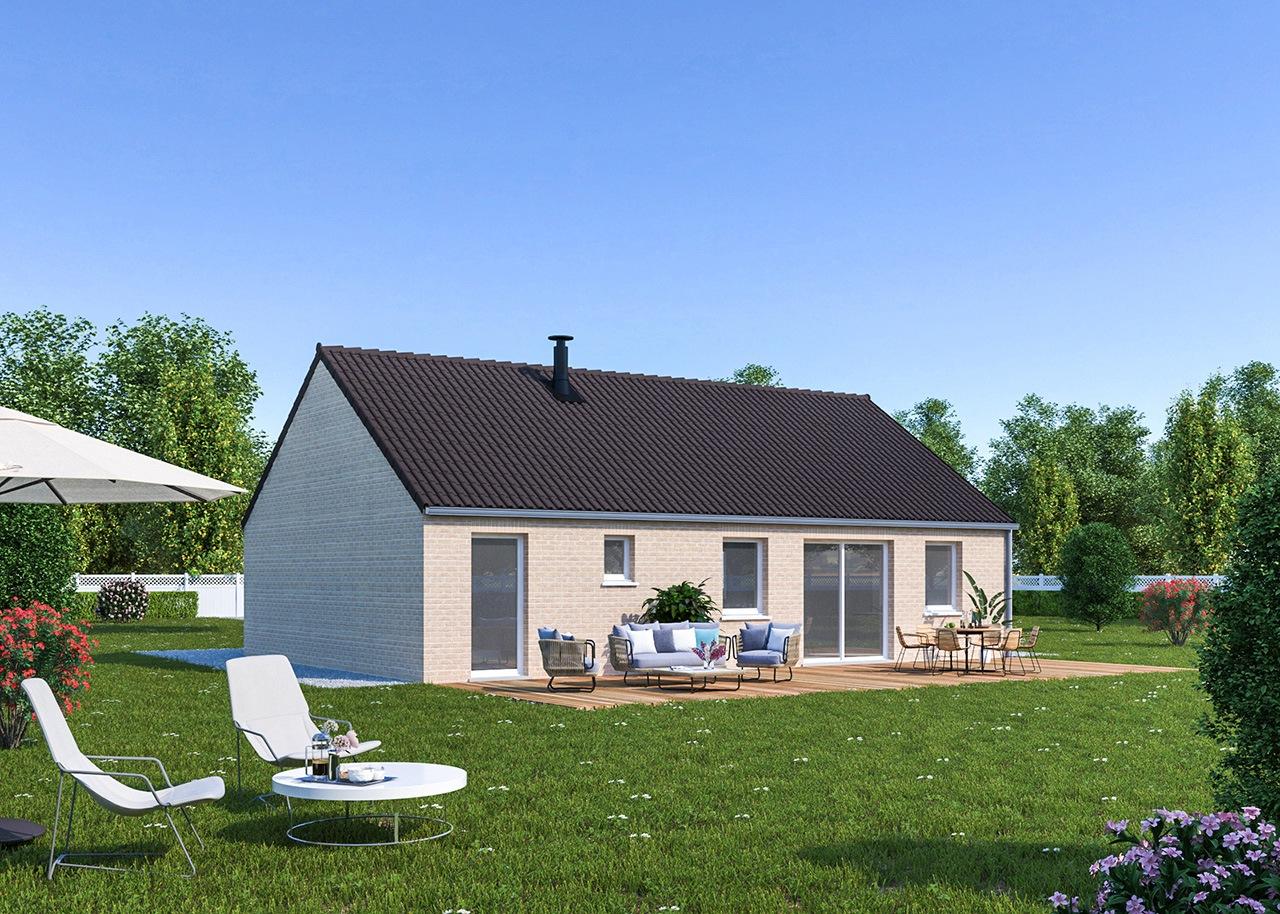 Maisons + Terrains du constructeur Maisons Phénix Dunkerque • 99 m² • REXPOEDE