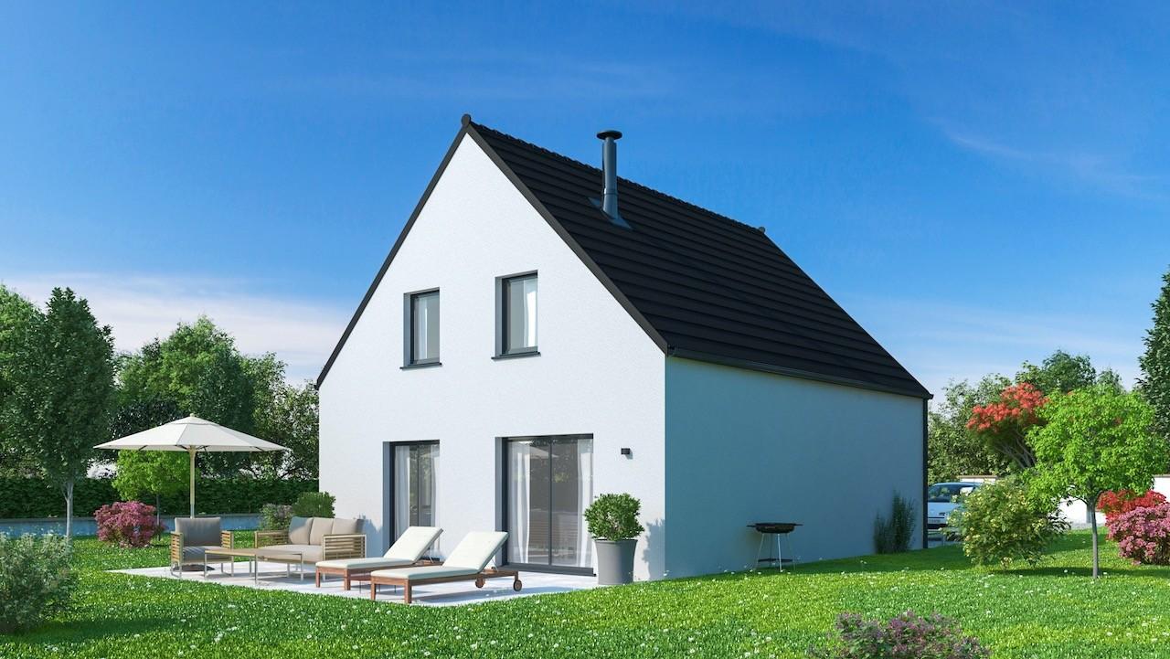 Maisons + Terrains du constructeur Maisons Phénix Dunkerque • 128 m² • BOURBOURG