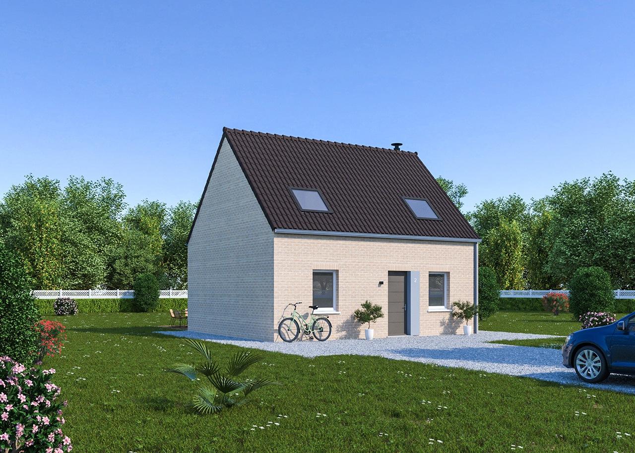 Maisons + Terrains du constructeur Maisons Phénix Dunkerque • 87 m² • MORBECQUE