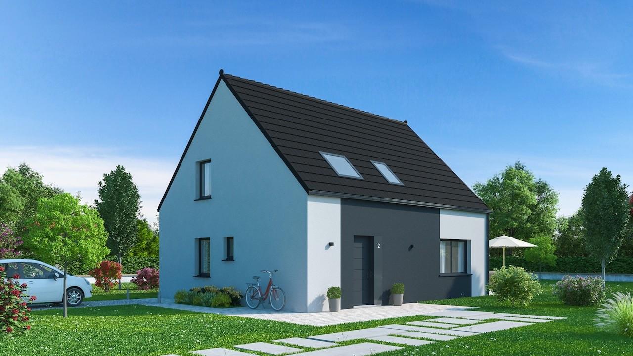 Maisons + Terrains du constructeur Maisons Phénix Dunkerque • 128 m² • WATTEN