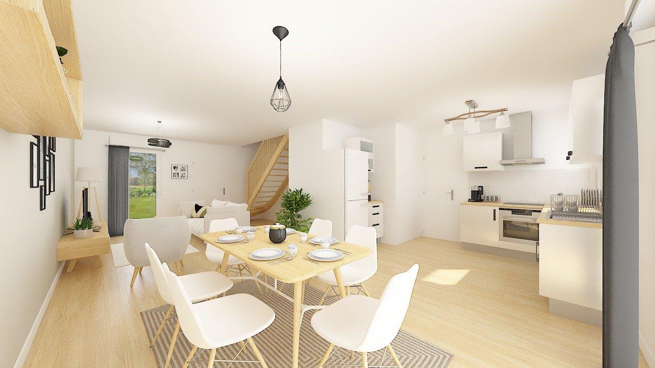 Maisons + Terrains du constructeur Maisons Phénix Dunkerque • 83 m² • MILLAM