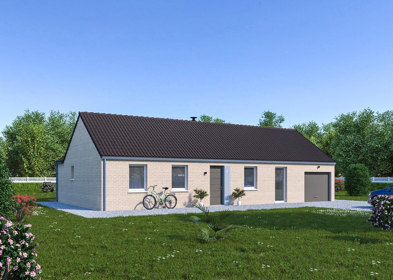 Maisons + Terrains du constructeur Maisons Phénix Dunkerque • 105 m² • CASSEL