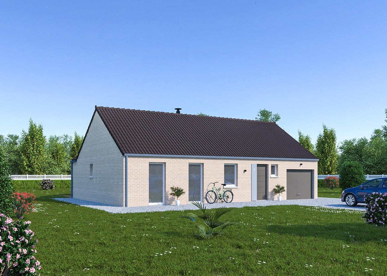 Maisons + Terrains du constructeur Maisons Phénix Dunkerque • 102 m² • MILLAM