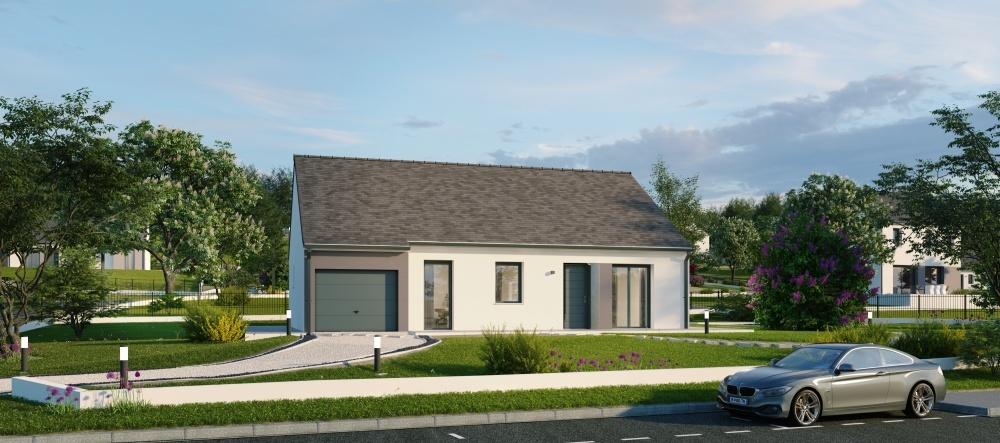 Maisons + Terrains du constructeur Maisons Phénix Dunkerque • 104 m² • EBBLINGHEM