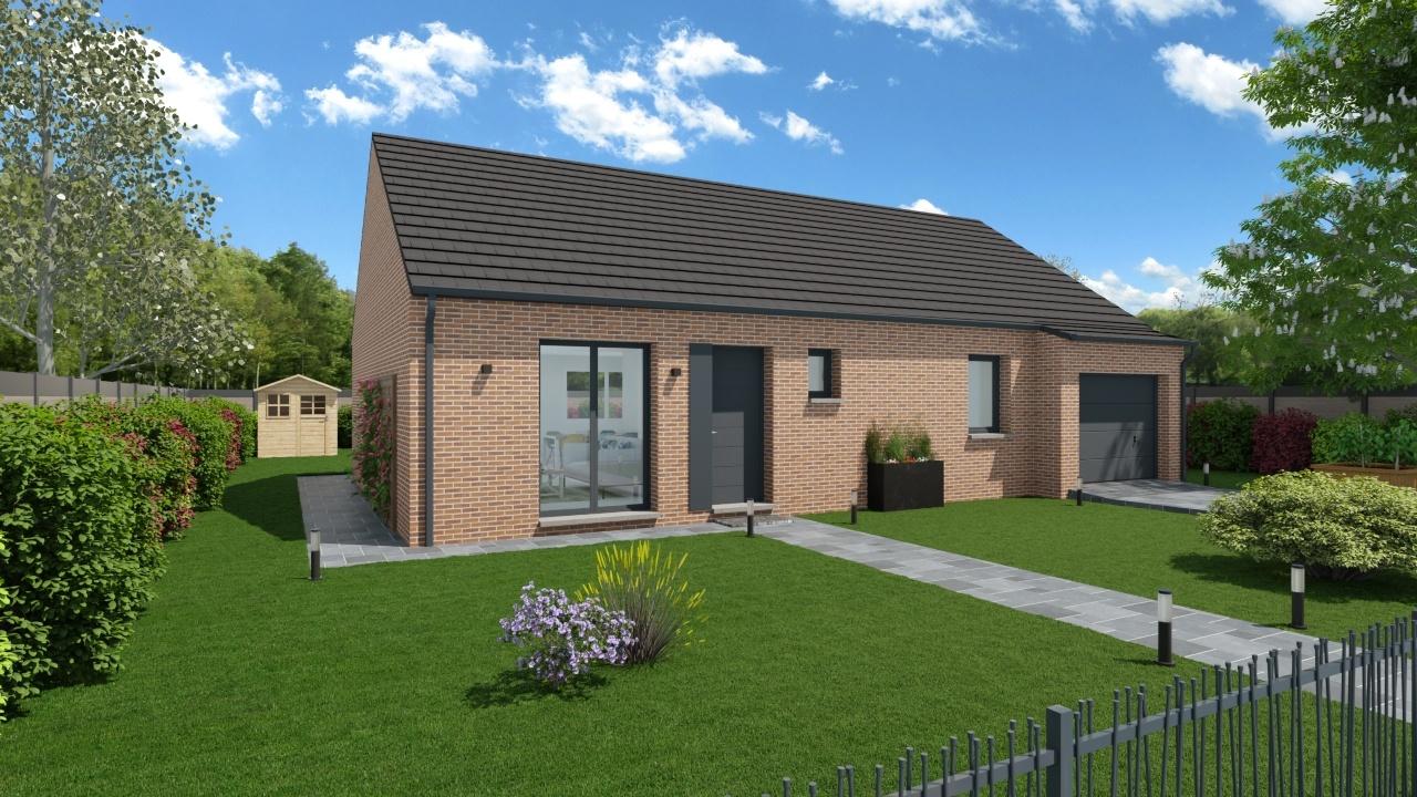 Maisons + Terrains du constructeur Maisons Phénix Dunkerque • 89 m² • HERZEELE