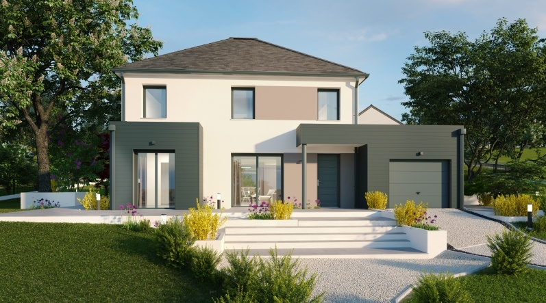 Maisons + Terrains du constructeur Maisons Phénix Dunkerque • 137 m² • BOESEGHEM