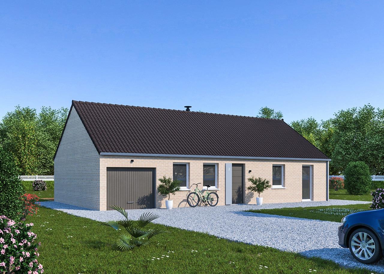 Maisons + Terrains du constructeur Maisons Phénix Dunkerque • 102 m² • ZERMEZEELE