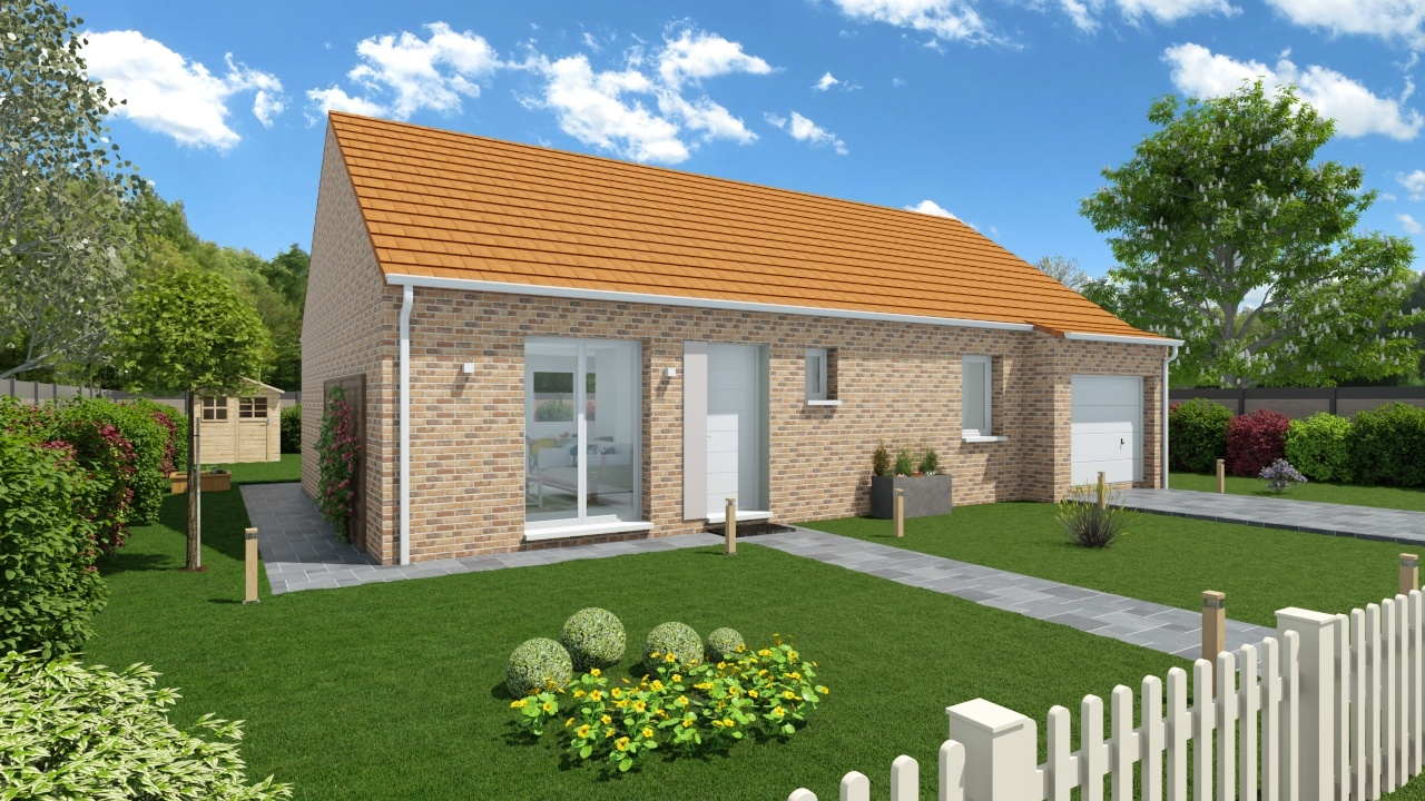 Maisons + Terrains du constructeur Maisons Phénix Dunkerque • 89 m² • OXELAERE