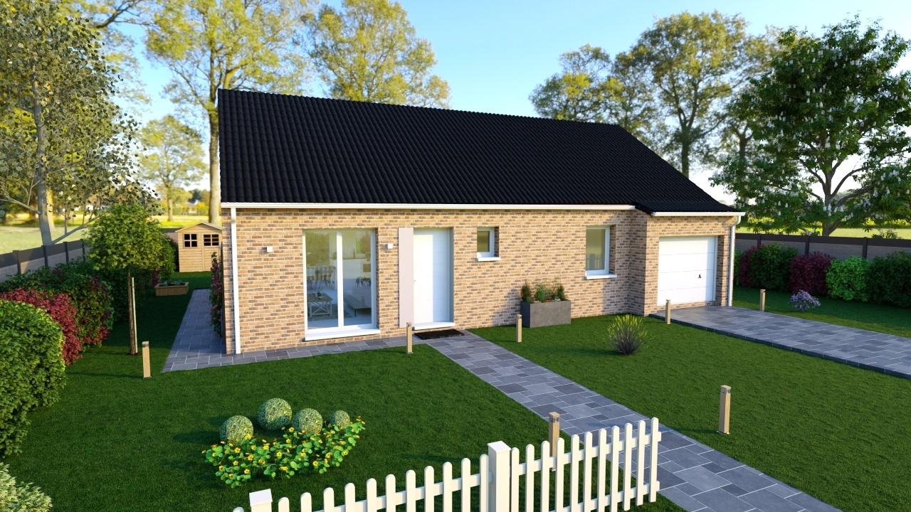 Maisons + Terrains du constructeur Maisons Phénix Dunkerque • 89 m² • REXPOEDE