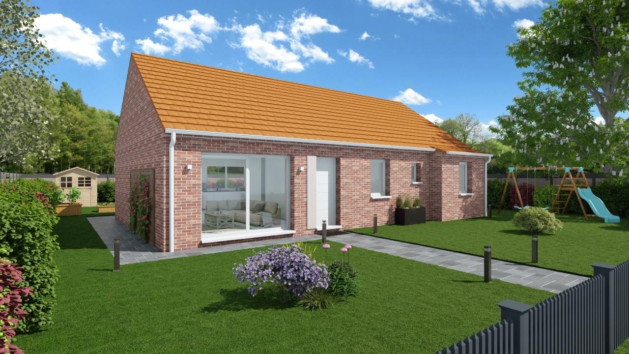 Maisons + Terrains du constructeur Maisons Phénix Dunkerque • 105 m² • CAPPELLE LA GRANDE
