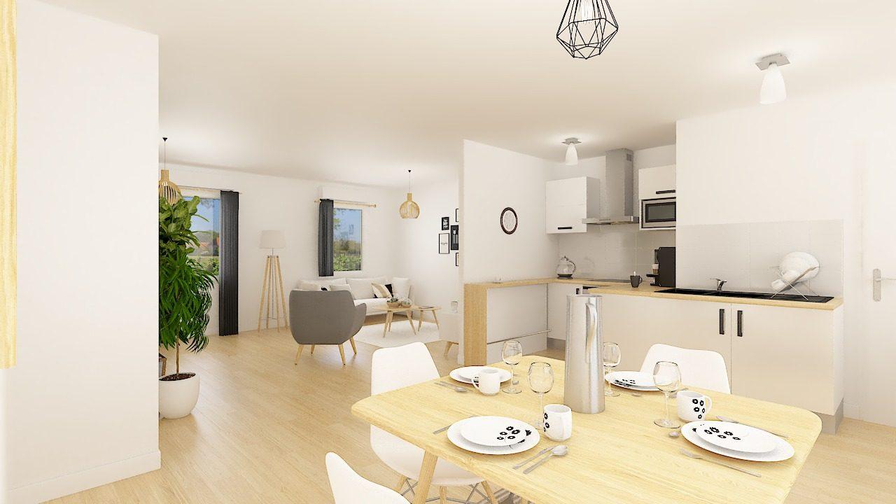 Maisons + Terrains du constructeur MAISON FAMILIALE CAEN • 75 m² • FERIN