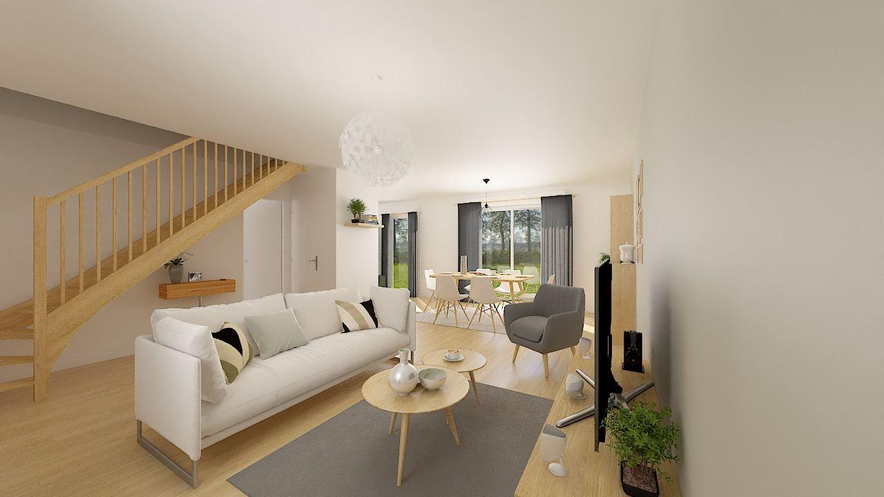 Maisons + Terrains du constructeur MAISON FAMILIALE CAEN • 105 m² • ESTOURMEL
