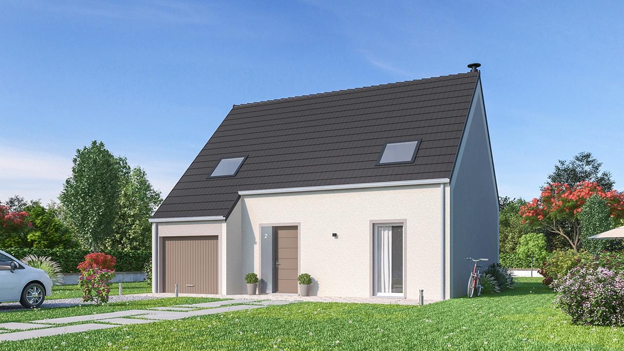 Maisons + Terrains du constructeur MAISON FAMILIALE CAEN • 115 m² • BERTRY