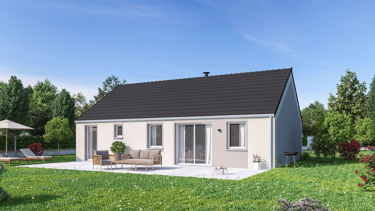Maisons + Terrains du constructeur MAISON FAMILIALE CAEN • 99 m² • DOUAI