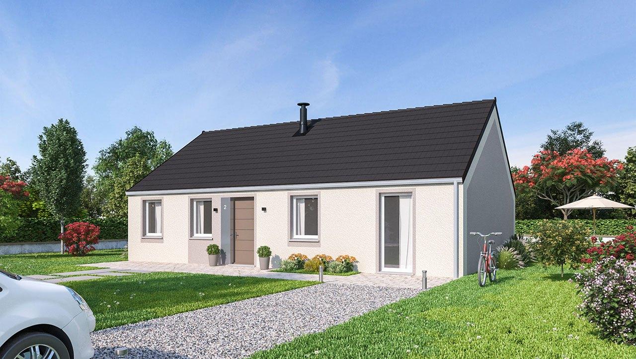Maisons + Terrains du constructeur MAISON FAMILIALE CAEN • 99 m² • CANTIN