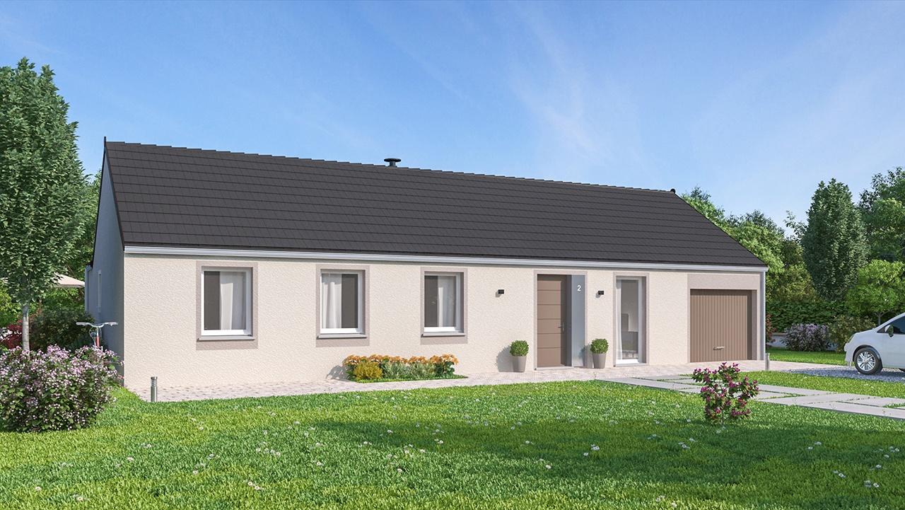 Maisons + Terrains du constructeur MAISON FAMILIALE CAEN • 105 m² • CAULLERY