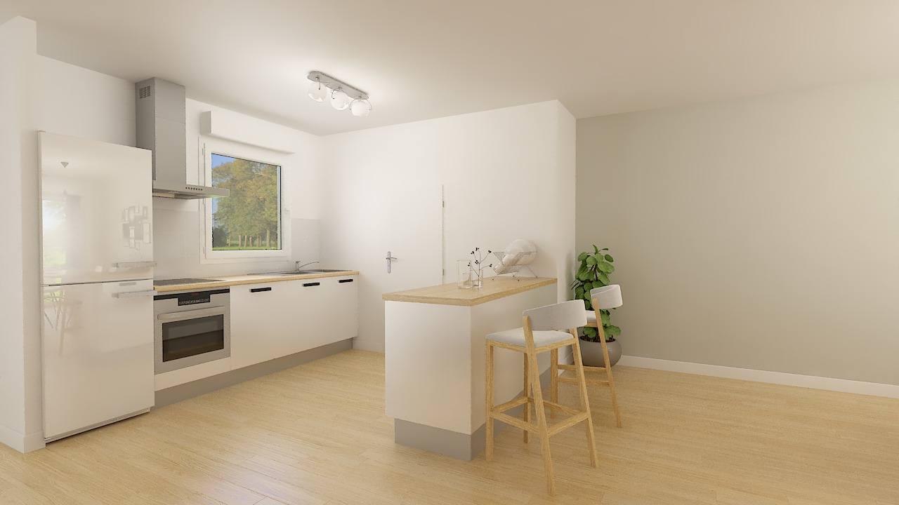 Maisons + Terrains du constructeur MAISON FAMILIALE CAEN • 104 m² • RUMILLY EN CAMBRESIS
