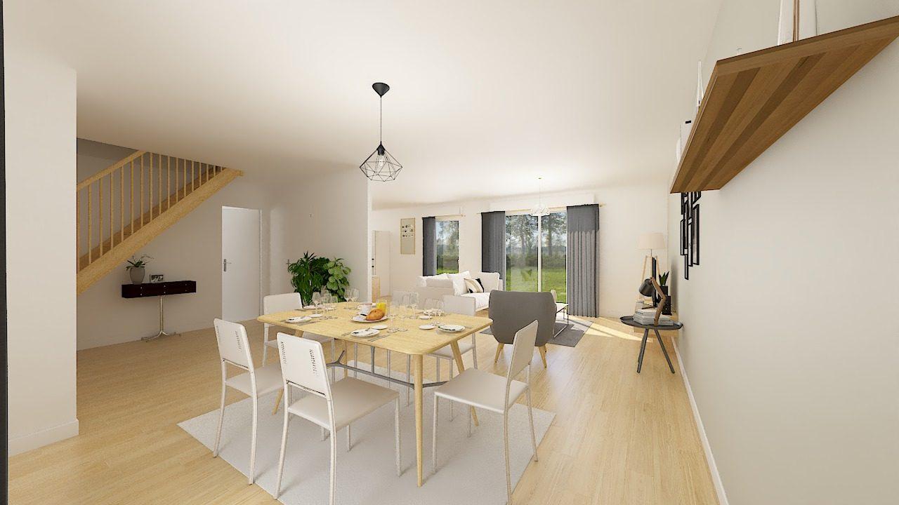 Maisons + Terrains du constructeur MAISON FAMILIALE CAEN • 107 m² • CAUDRY