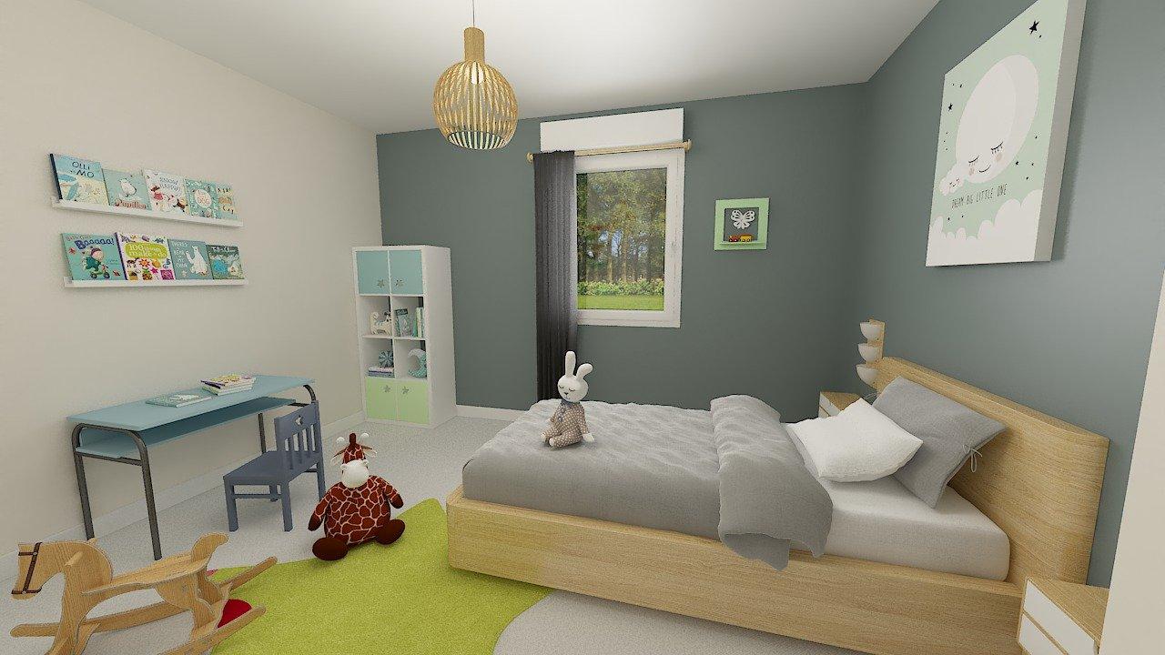 Maisons + Terrains du constructeur MAISON FAMILIALE CAEN • 99 m² • ESTOURMEL