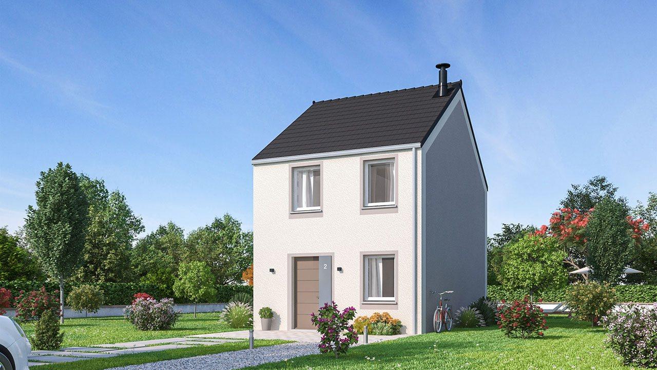 Maisons + Terrains du constructeur MAISON FAMILIALE CAEN • 77 m² • DIVION
