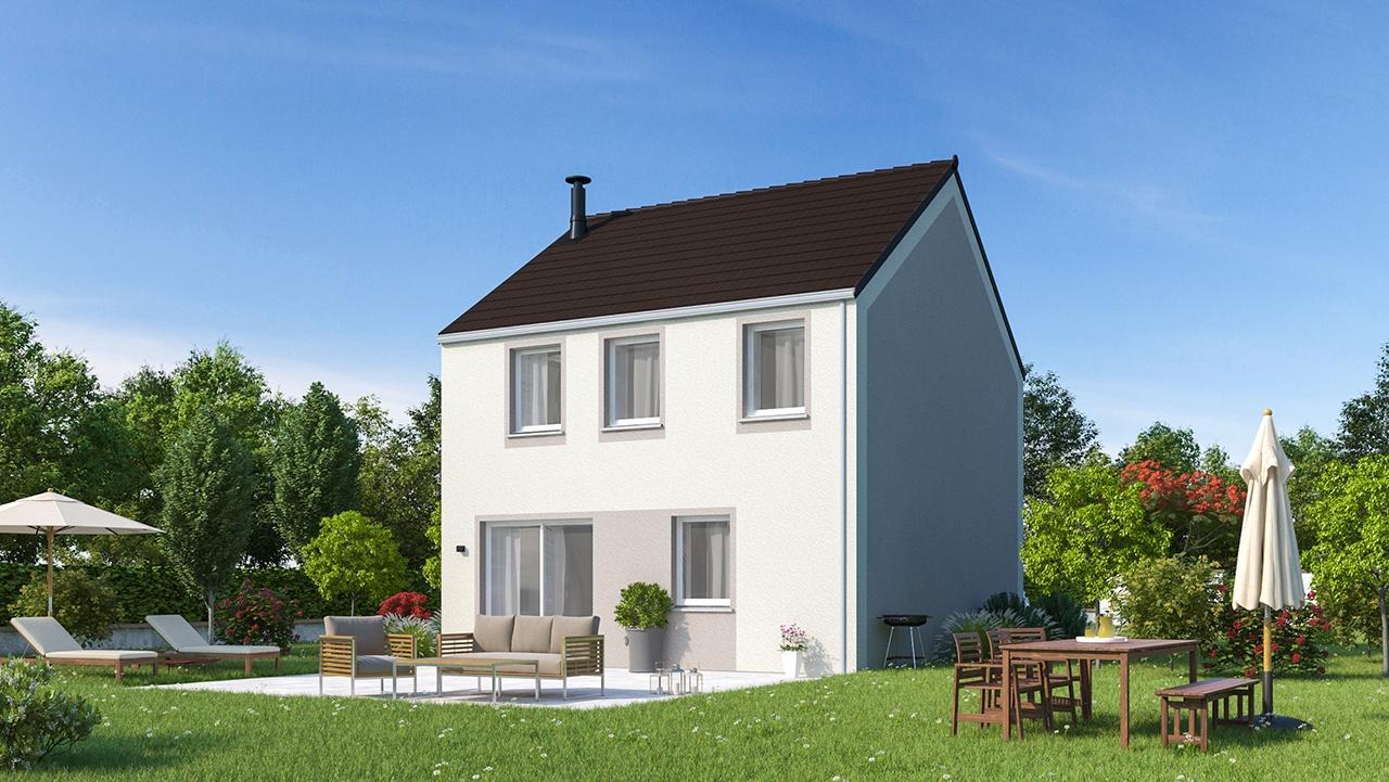 Maisons + Terrains du constructeur MAISON FAMILIALE CAEN • 91 m² • MAZINGARBE