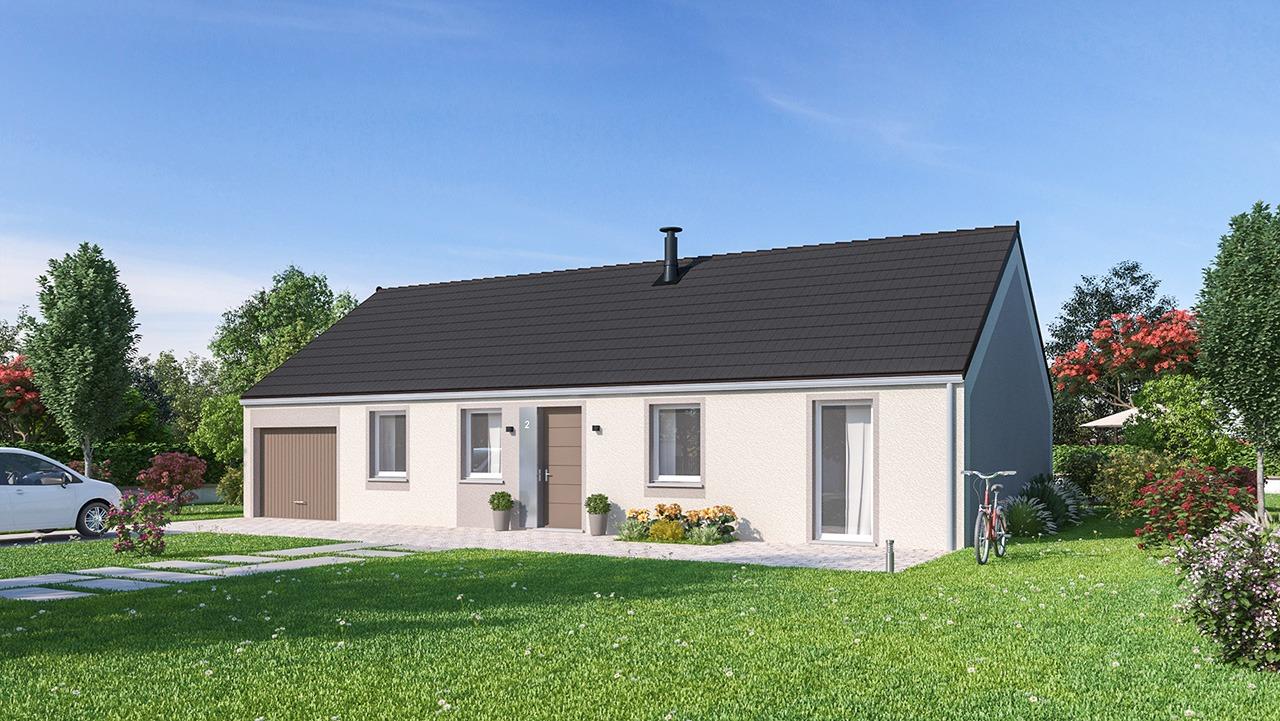 Maisons + Terrains du constructeur MAISON FAMILIALE CAEN • 99 m² • FONTAINE AU PIRE