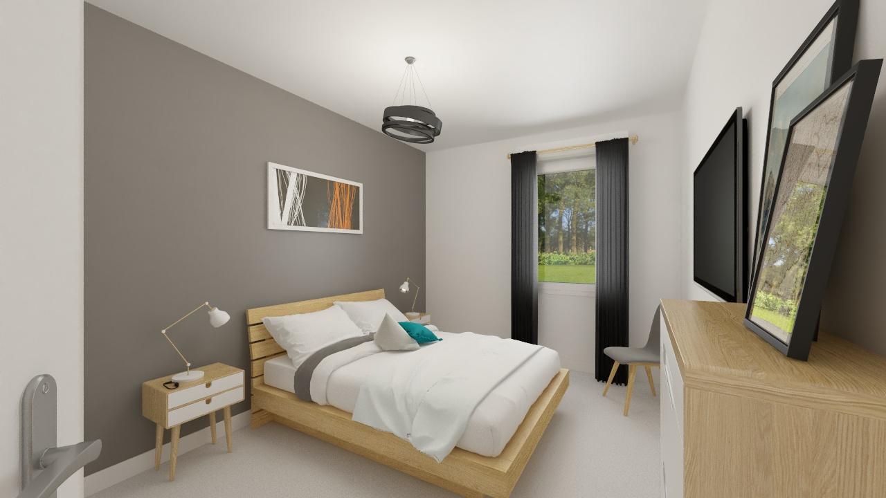 Maisons + Terrains du constructeur MAISON FAMILIALE CAEN • 122 m² • CAUDRY
