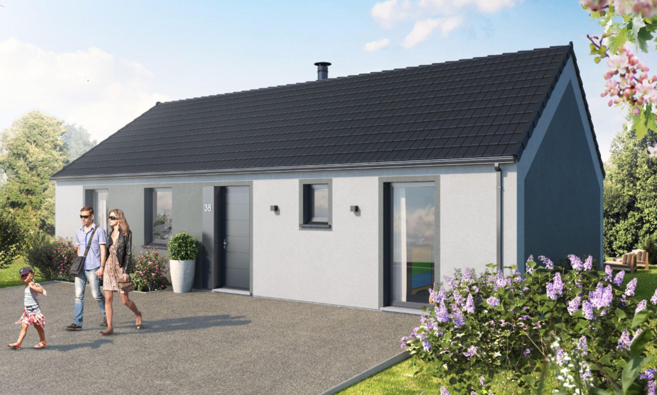 Maisons + Terrains du constructeur MAISON FAMILIALE CAEN • 84 m² • ARLEUX