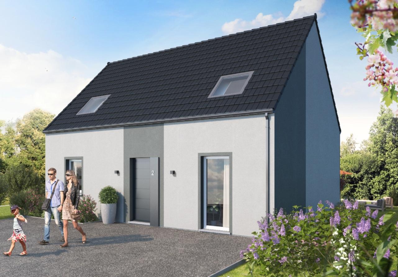 Maisons + Terrains du constructeur MAISON FAMILIALE CAEN • 115 m² • ARLEUX