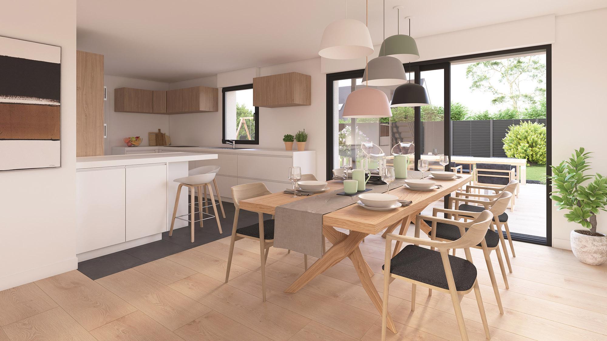 Maisons + Terrains du constructeur Maison Castor Reims • 116 m² • BAZANCOURT