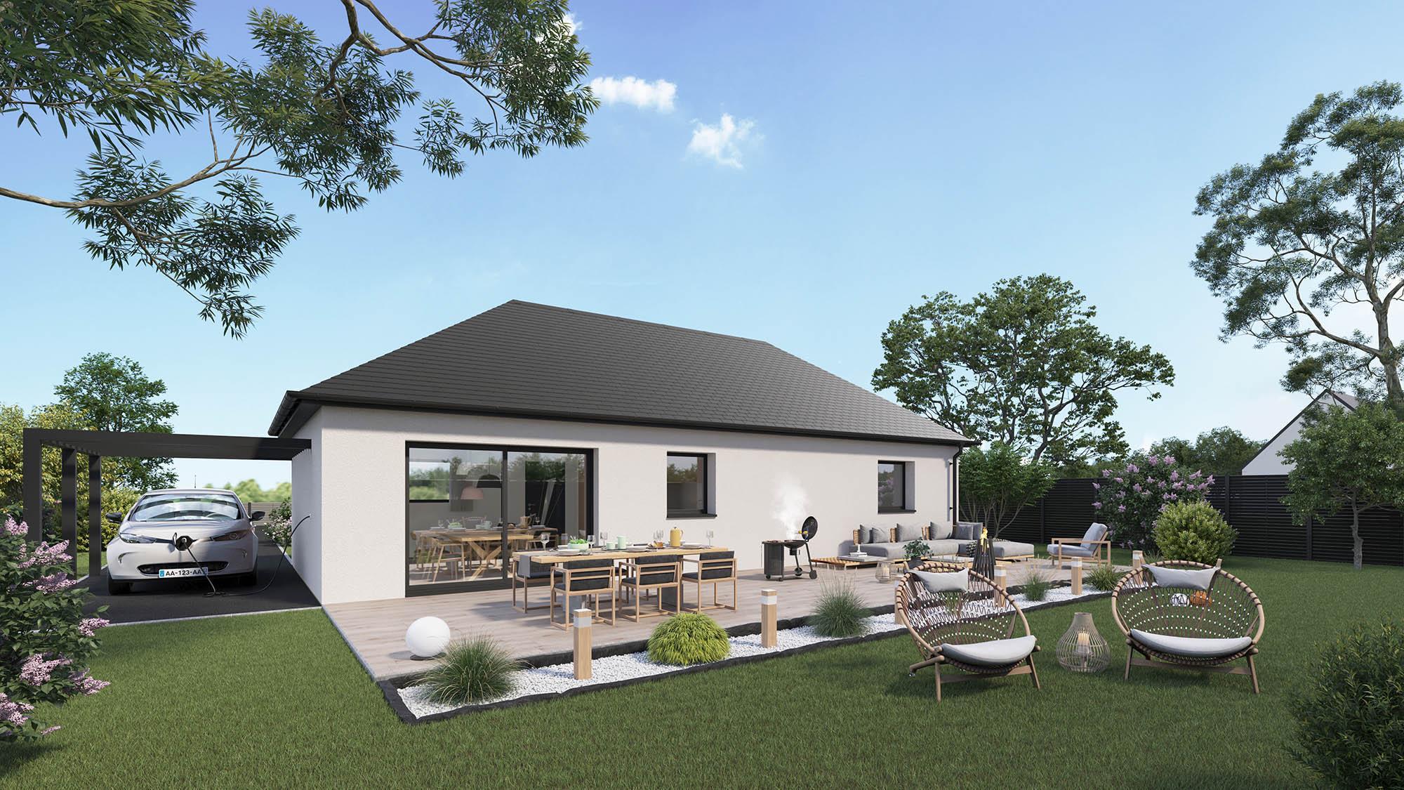 Maisons + Terrains du constructeur MAISON CASTOR REIMS • 100 m² • FISMES