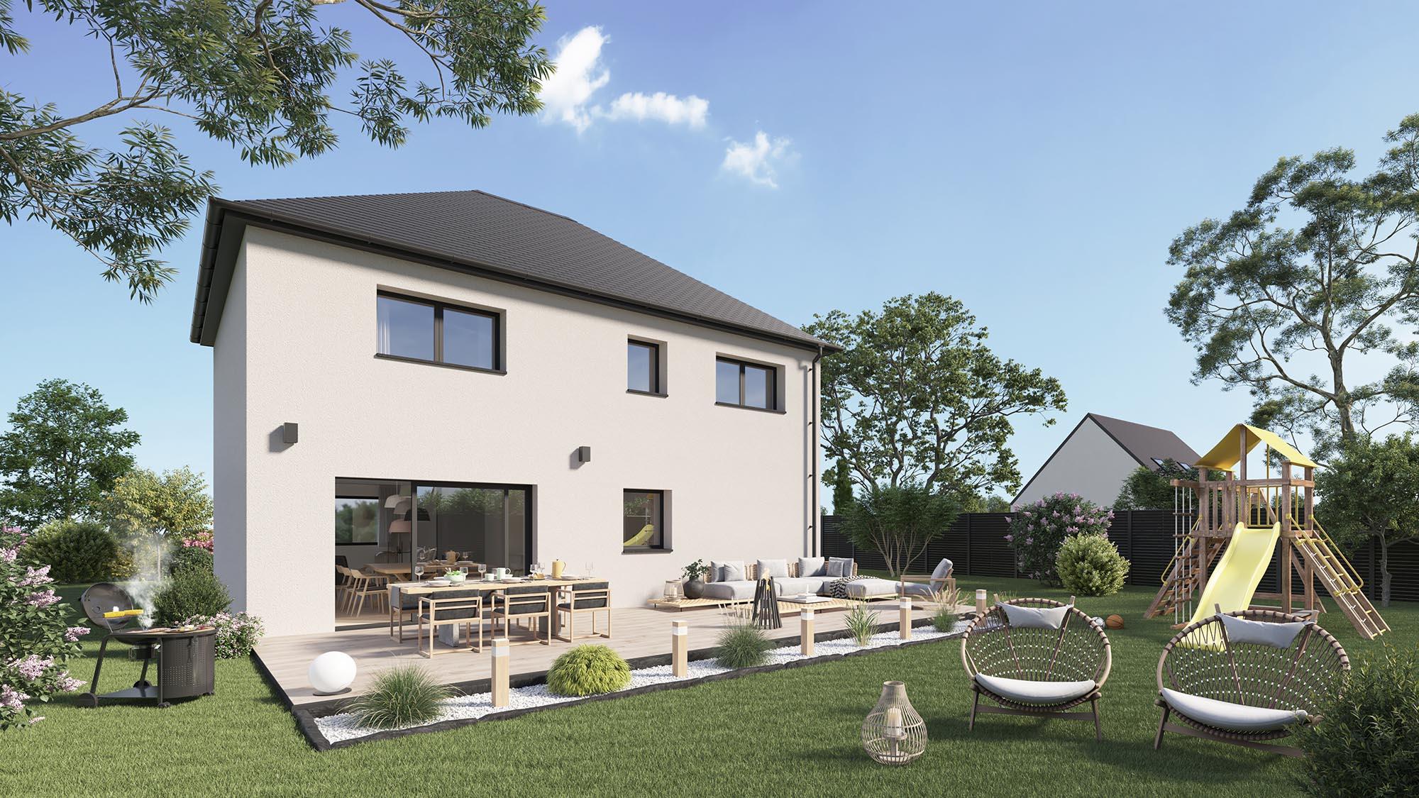 Maisons + Terrains du constructeur Maison Castor Reims • 116 m² • FISMES