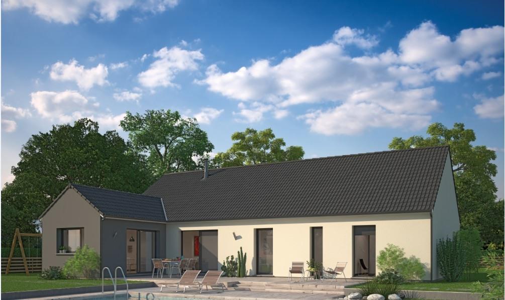 Maisons + Terrains du constructeur MAISON FAMILIALE SAINT QUENTIN • 122 m² • LE NOUVION EN THIERACHE