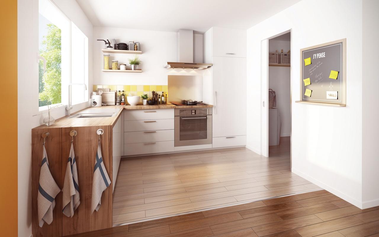 Maisons + Terrains du constructeur MAISON FAMILIALE SAINT QUENTIN • 95 m² • GRICOURT