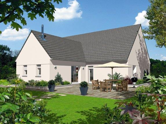 Maisons + Terrains du constructeur MAISON FAMILIALE SAINT QUENTIN • 110 m² • VERSIGNY