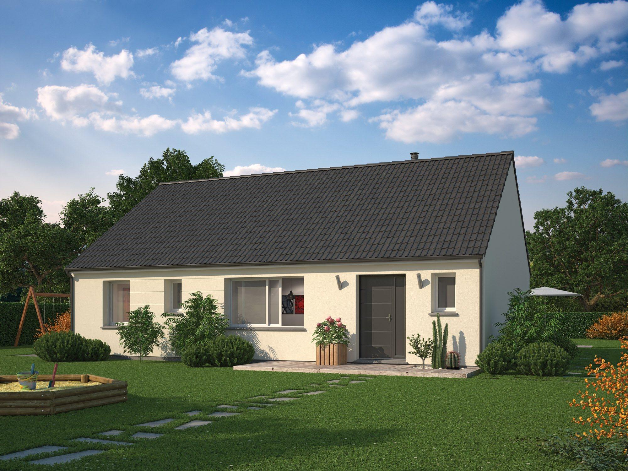 Maisons + Terrains du constructeur MAISON FAMILIALE SAINT QUENTIN • 90 m² • LA FERE